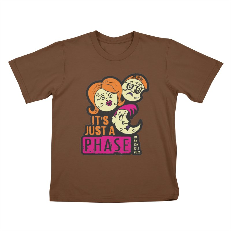 Moon Day - It's just a phase Kids T-Shirt by Moon Joggers's Artist Shop