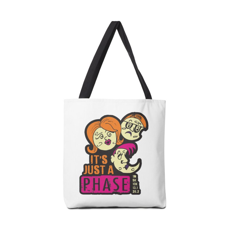 Moon Day - It's just a phase Accessories Tote Bag Bag by Moon Joggers's Artist Shop
