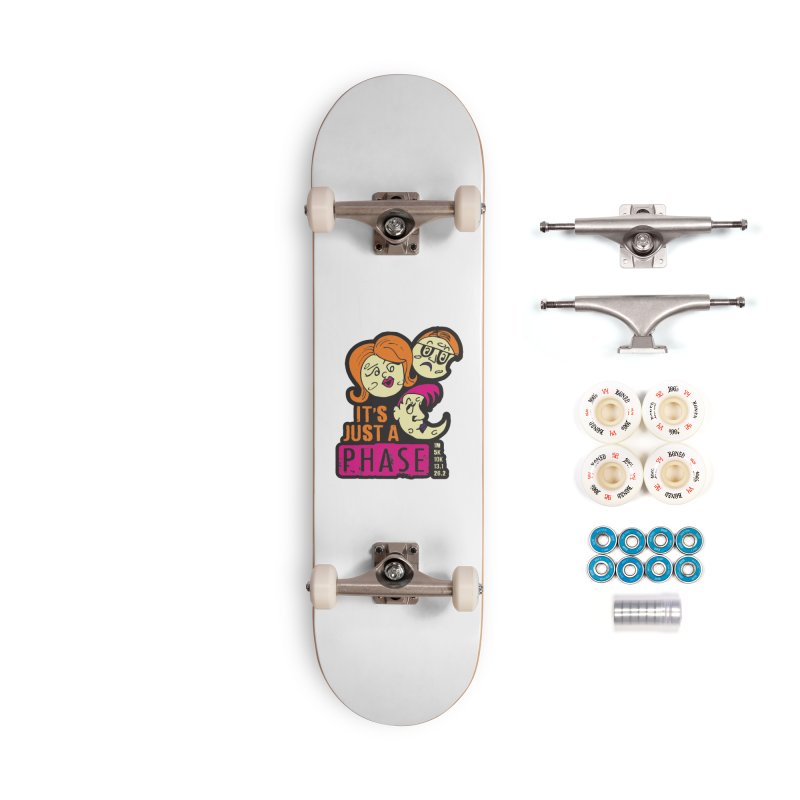 Moon Day - It's just a phase Accessories Complete - Premium Skateboard by Moon Joggers's Artist Shop