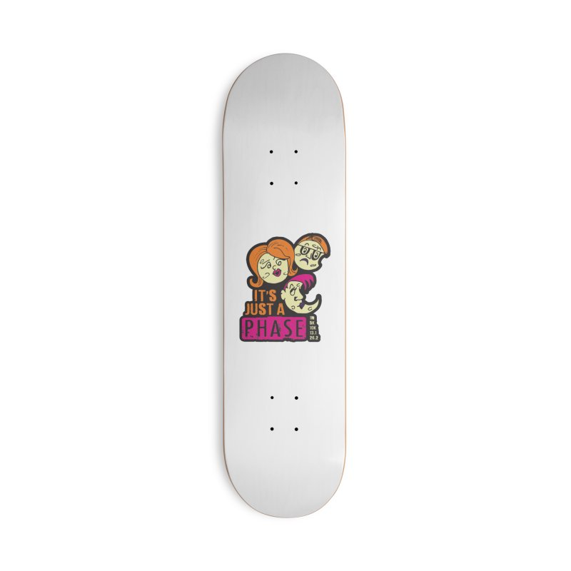 Moon Day - It's just a phase Accessories Deck Only Skateboard by Moon Joggers's Artist Shop