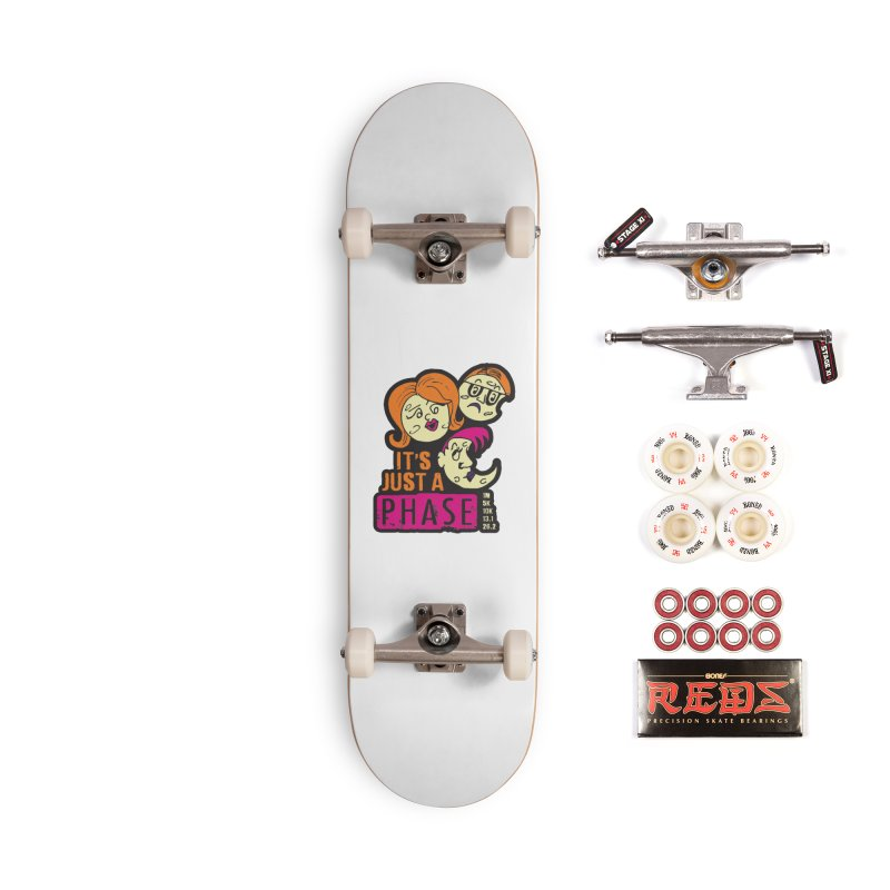 Moon Day - It's just a phase Accessories Complete - Pro Skateboard by Moon Joggers's Artist Shop