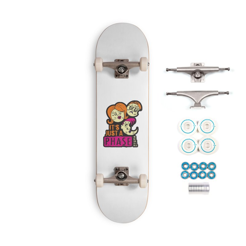 Moon Day - It's just a phase Accessories Complete - Basic Skateboard by Moon Joggers's Artist Shop