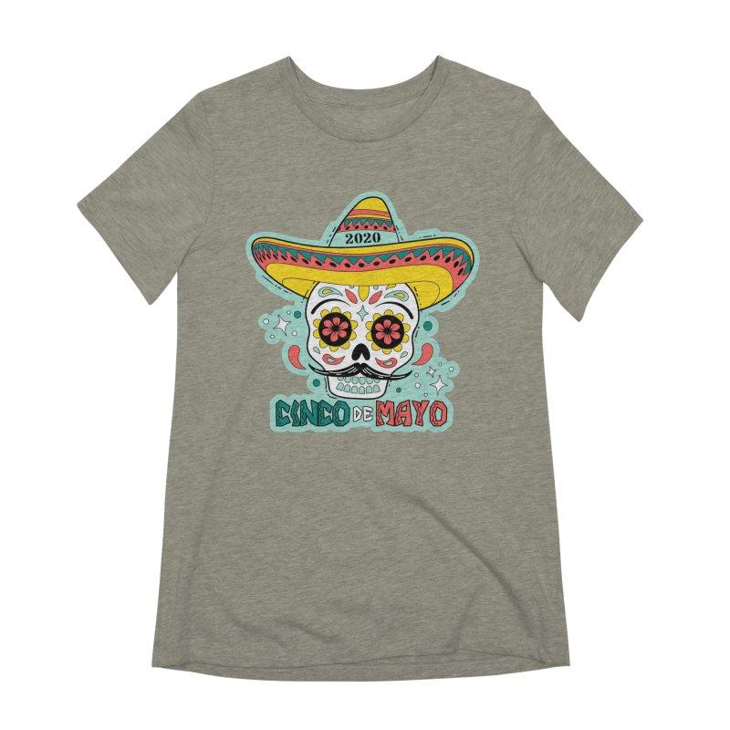 Cinco De Mayo Women's Extra Soft T-Shirt by Moon Joggers's Artist Shop