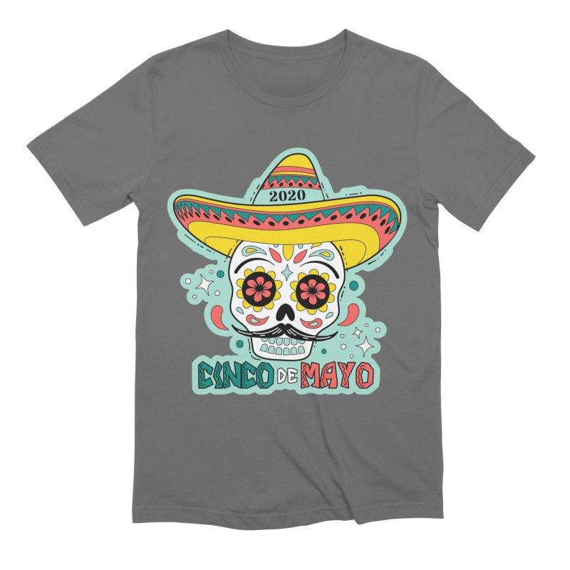 Cinco De Mayo Men's Extra Soft T-Shirt by Moon Joggers's Artist Shop