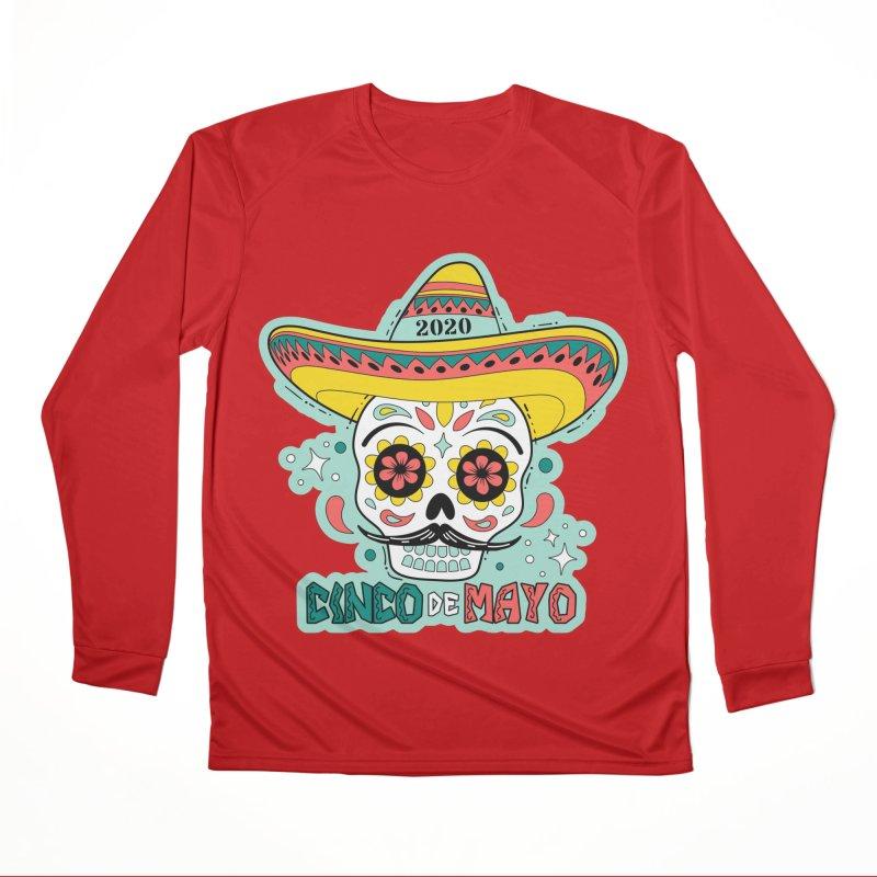 Cinco De Mayo Men's Performance Longsleeve T-Shirt by Moon Joggers's Artist Shop
