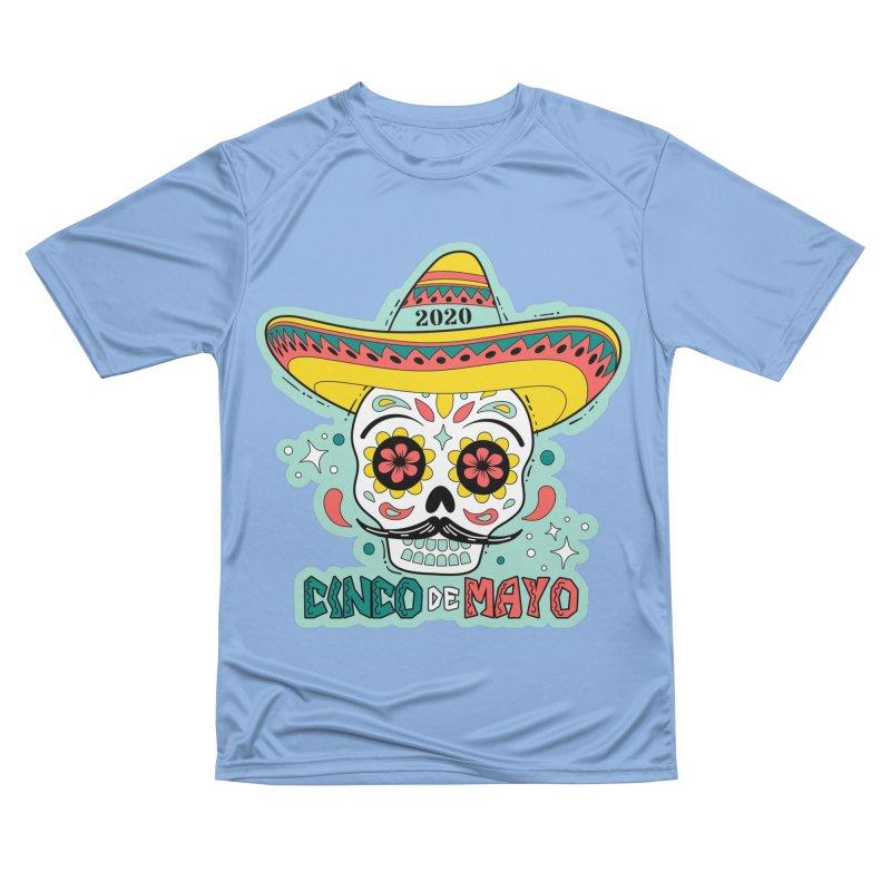 Cinco De Mayo Men's Performance T-Shirt by Moon Joggers's Artist Shop