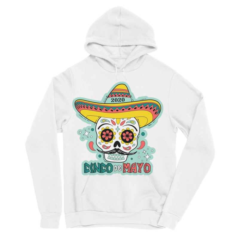 Cinco De Mayo Women's Sponge Fleece Pullover Hoody by Moon Joggers's Artist Shop