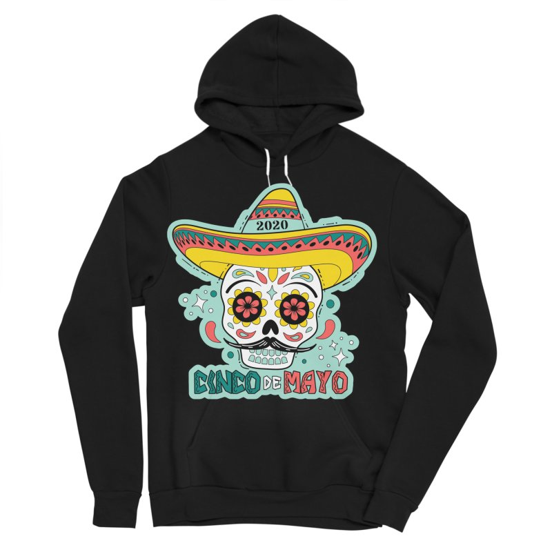 Cinco De Mayo Men's Sponge Fleece Pullover Hoody by Moon Joggers's Artist Shop