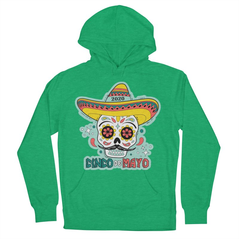 Cinco De Mayo Women's French Terry Pullover Hoody by Moon Joggers's Artist Shop