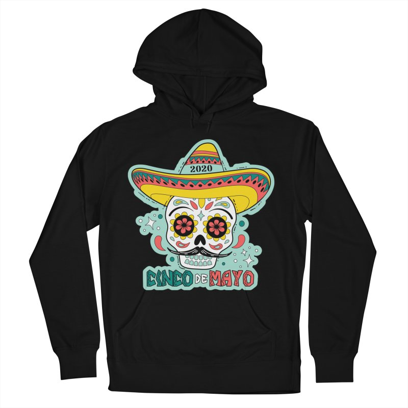 Cinco De Mayo Men's French Terry Pullover Hoody by Moon Joggers's Artist Shop