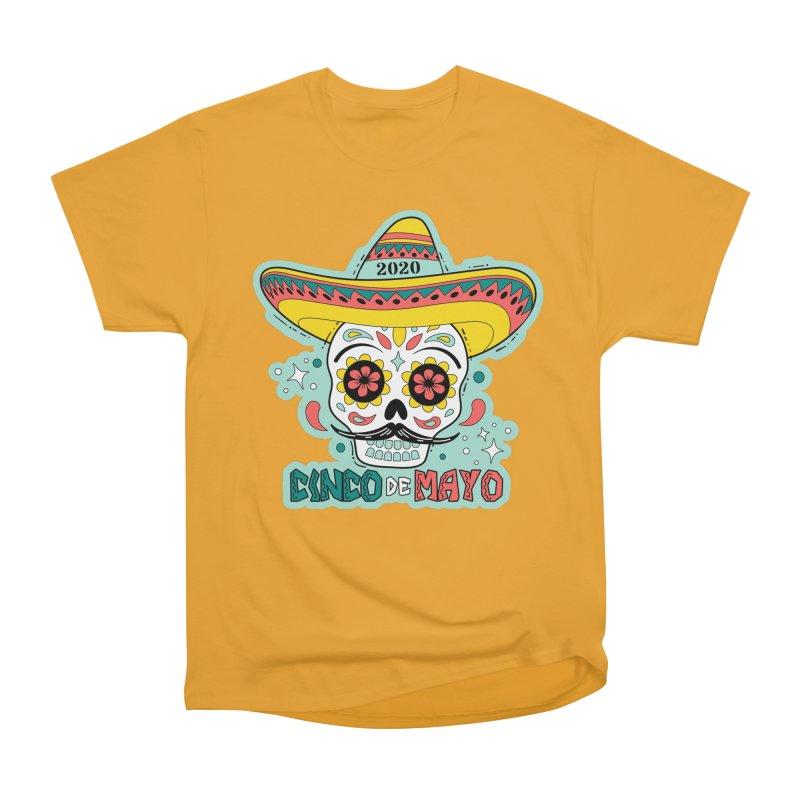 Cinco De Mayo Women's Heavyweight Unisex T-Shirt by Moon Joggers's Artist Shop