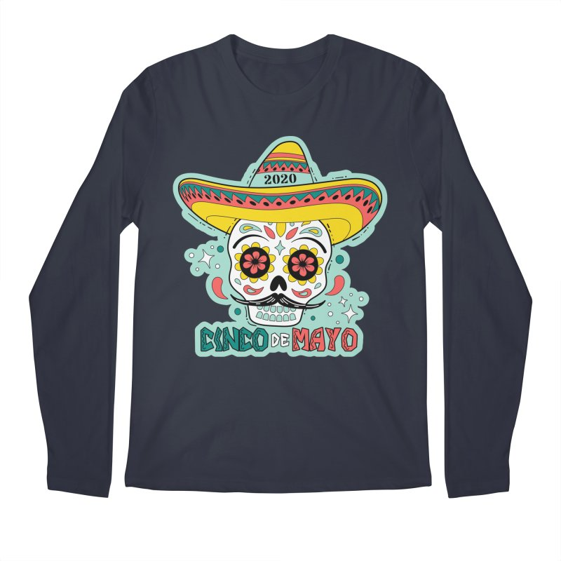 Cinco De Mayo Men's Regular Longsleeve T-Shirt by Moon Joggers's Artist Shop