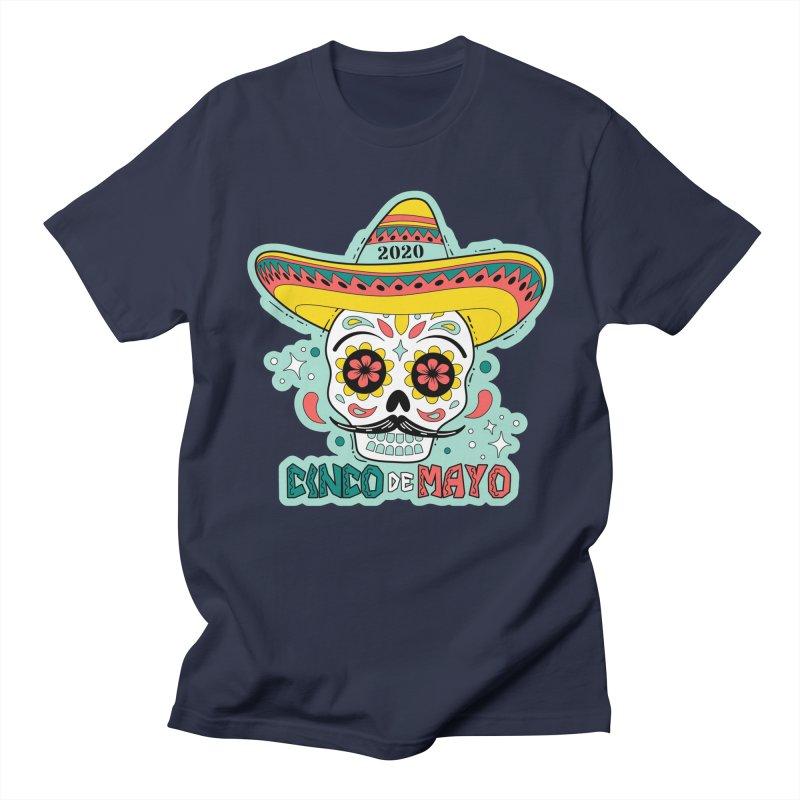 Cinco De Mayo Men's Regular T-Shirt by Moon Joggers's Artist Shop