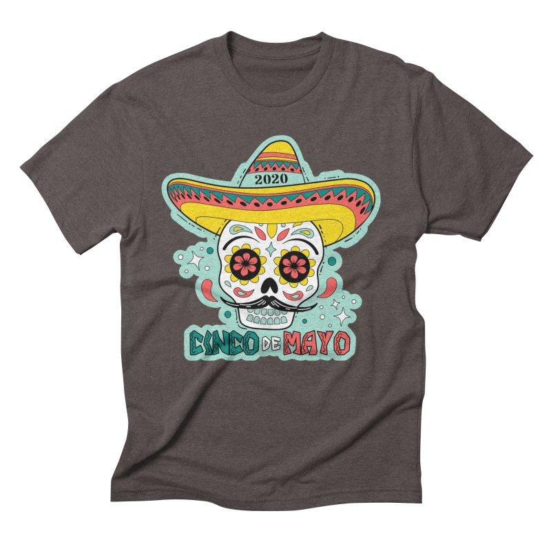 Cinco De Mayo Men's Triblend T-Shirt by Moon Joggers's Artist Shop