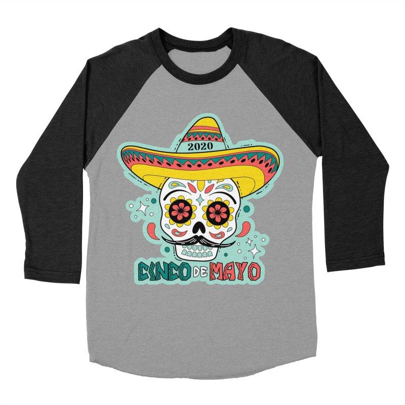 Cinco De Mayo Women's Baseball Triblend Longsleeve T-Shirt by Moon Joggers's Artist Shop