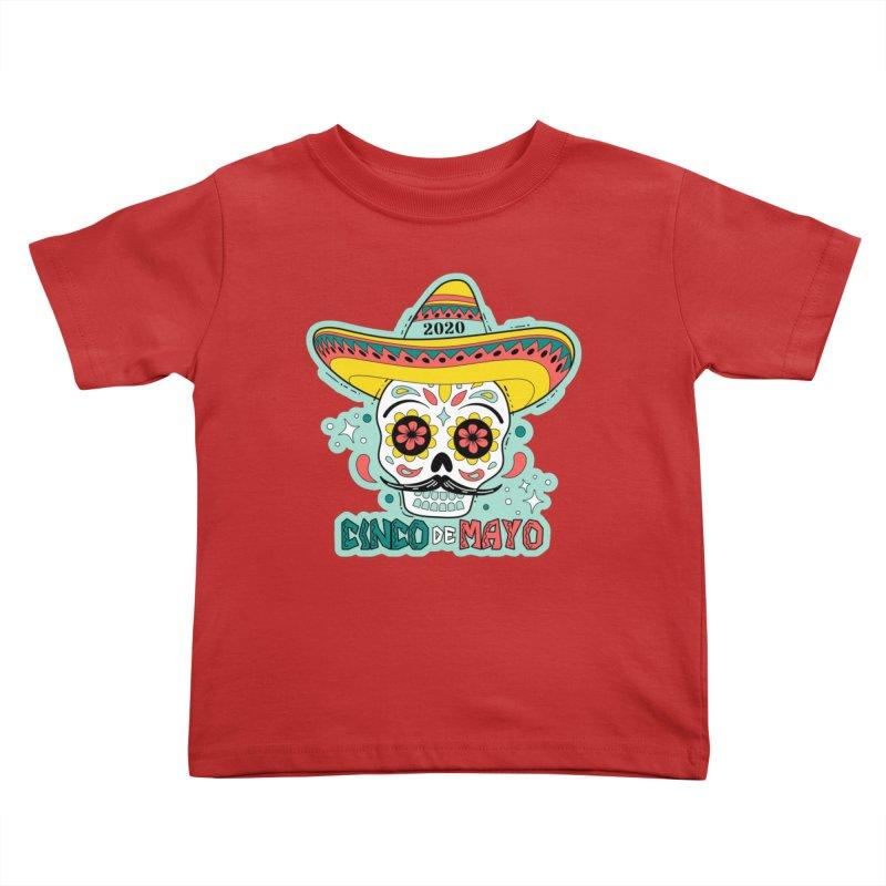 Cinco De Mayo Kids Toddler T-Shirt by Moon Joggers's Artist Shop