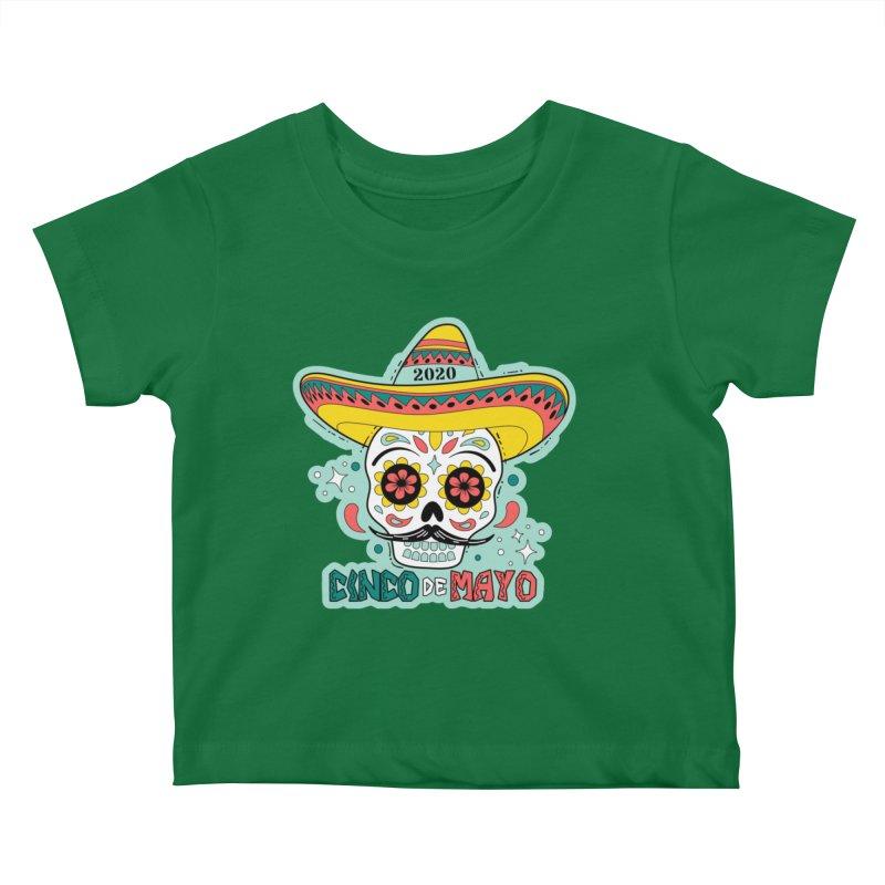 Cinco De Mayo Kids Baby T-Shirt by Moon Joggers's Artist Shop