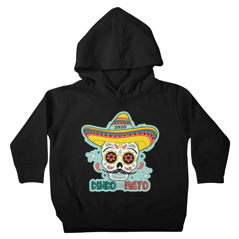 Cinco De Mayo Kids Toddler Pullover Hoody by Moon Joggers's Artist Shop