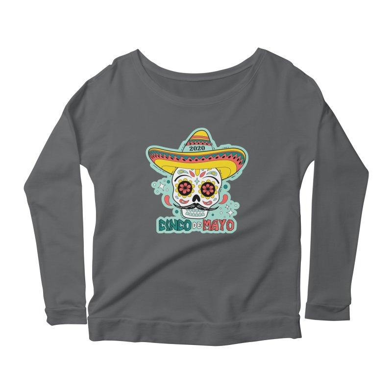Cinco De Mayo Women's Scoop Neck Longsleeve T-Shirt by Moon Joggers's Artist Shop