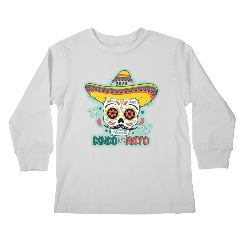 Cinco De Mayo Kids Longsleeve T-Shirt by Moon Joggers's Artist Shop