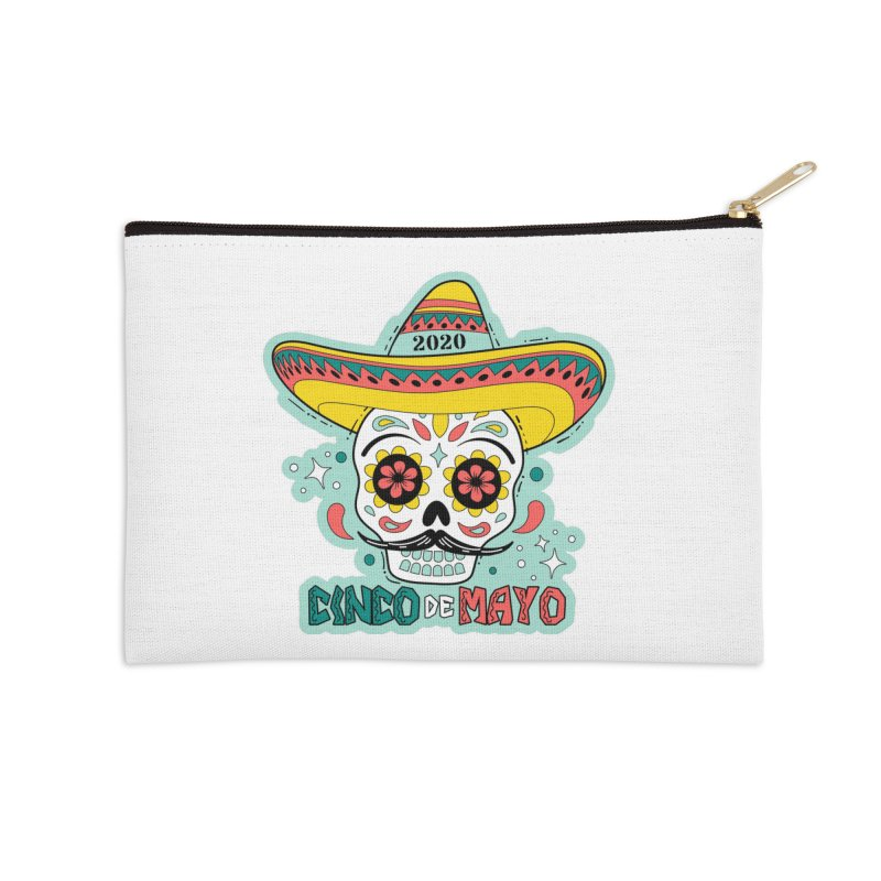 Cinco De Mayo Accessories Zip Pouch by Moon Joggers's Artist Shop