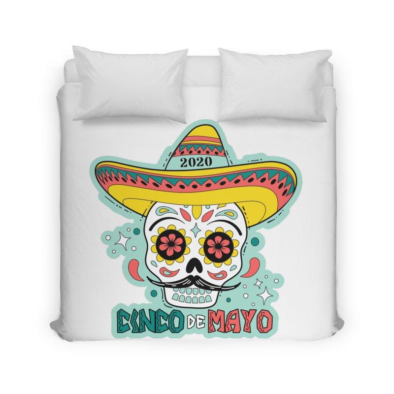 Cinco De Mayo Home Duvet by Moon Joggers's Artist Shop