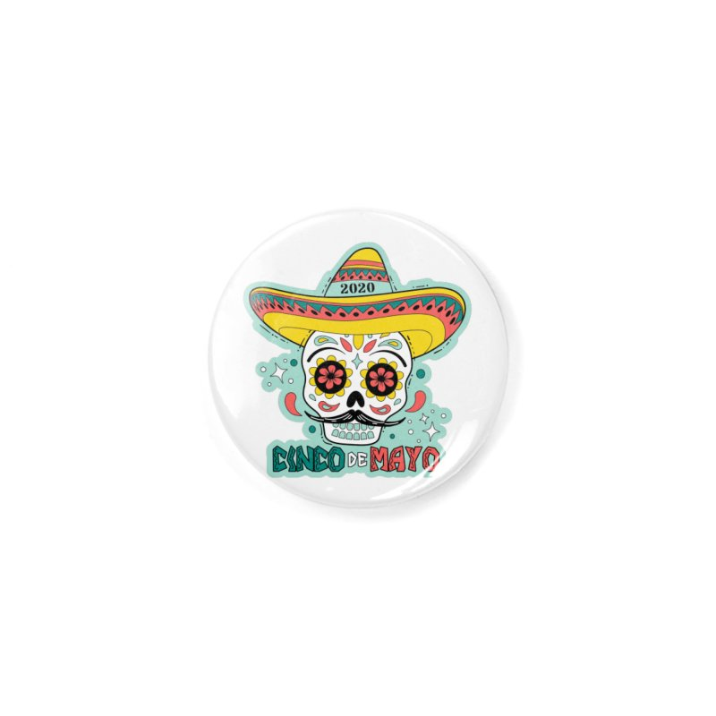Cinco De Mayo Accessories Button by Moon Joggers's Artist Shop