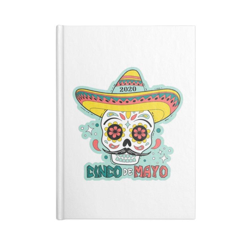 Cinco De Mayo Accessories Blank Journal Notebook by Moon Joggers's Artist Shop