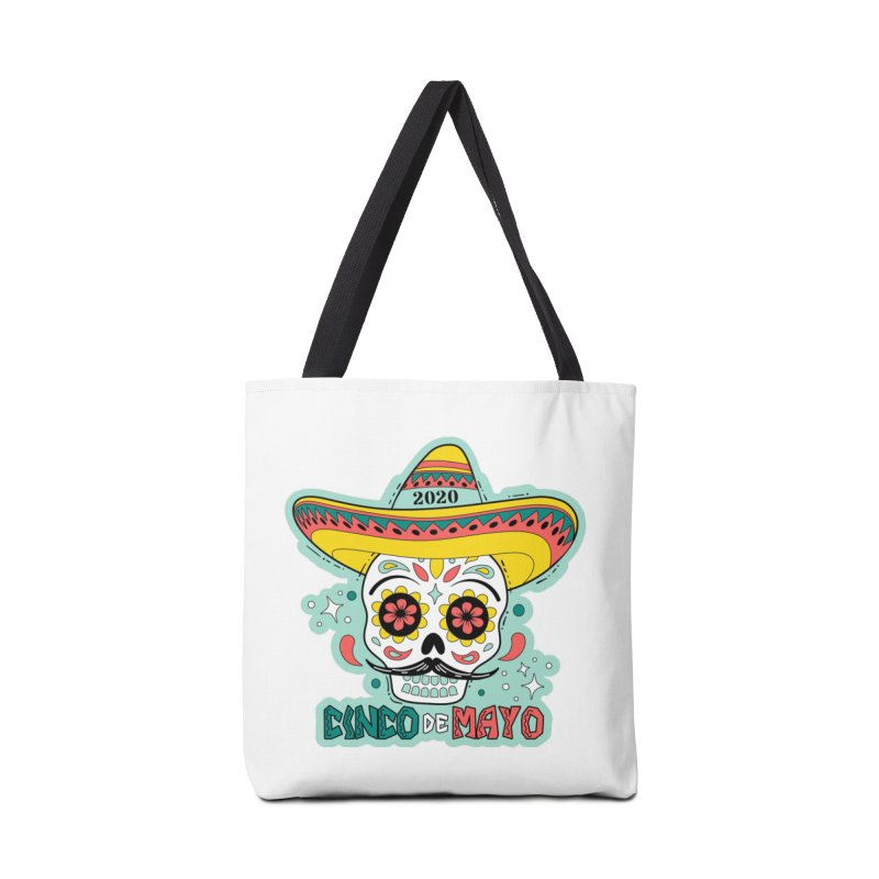 Cinco De Mayo Accessories Tote Bag Bag by Moon Joggers's Artist Shop