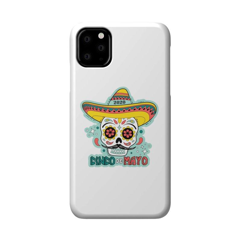 Cinco De Mayo Accessories Phone Case by Moon Joggers's Artist Shop
