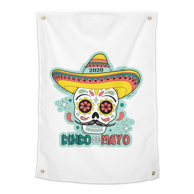 Cinco De Mayo Home Tapestry by Moon Joggers's Artist Shop