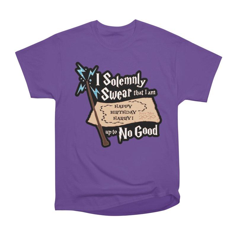Happy Birthday Harry Women's Heavyweight Unisex T-Shirt by Moon Joggers's Artist Shop