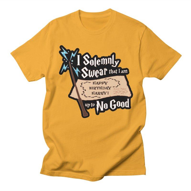 Happy Birthday Harry Men's Regular T-Shirt by Moon Joggers's Artist Shop