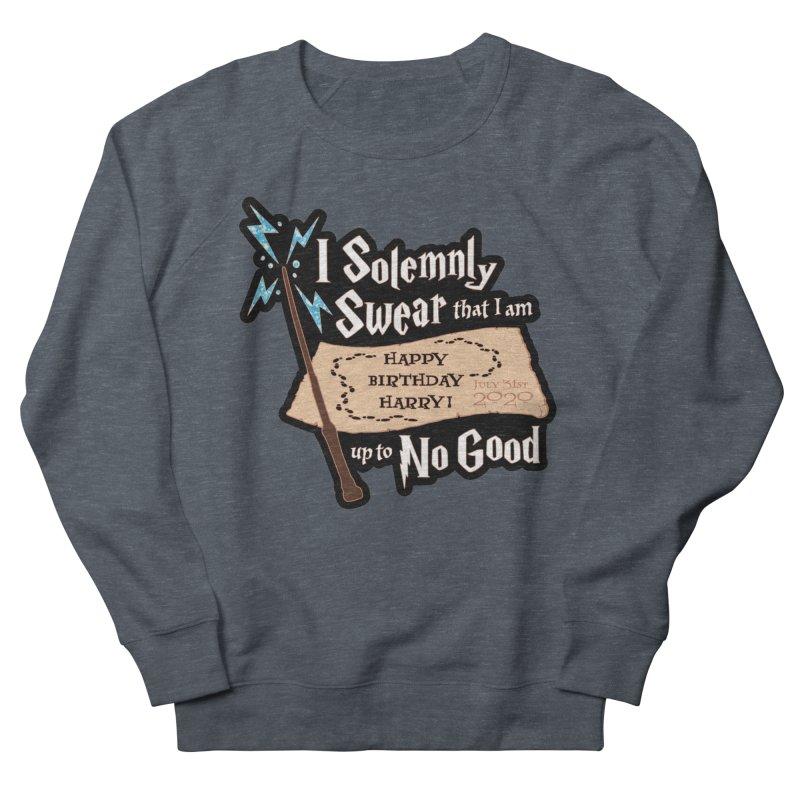 Happy Birthday Harry Men's French Terry Sweatshirt by Moon Joggers's Artist Shop