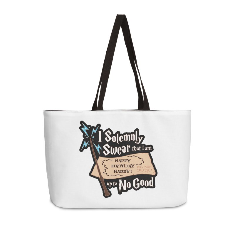 Happy Birthday Harry Accessories Weekender Bag Bag by Moon Joggers's Artist Shop