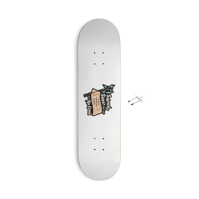 Happy Birthday Harry Accessories With Hanging Hardware Skateboard by Moon Joggers's Artist Shop