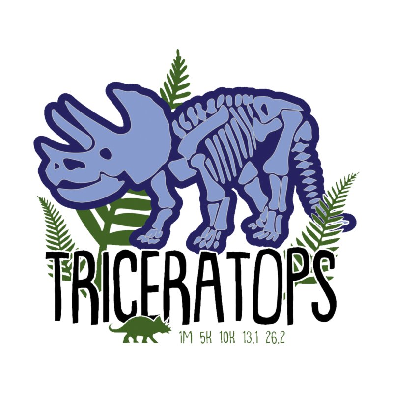 Triceratops by Moon Joggers's Artist Shop