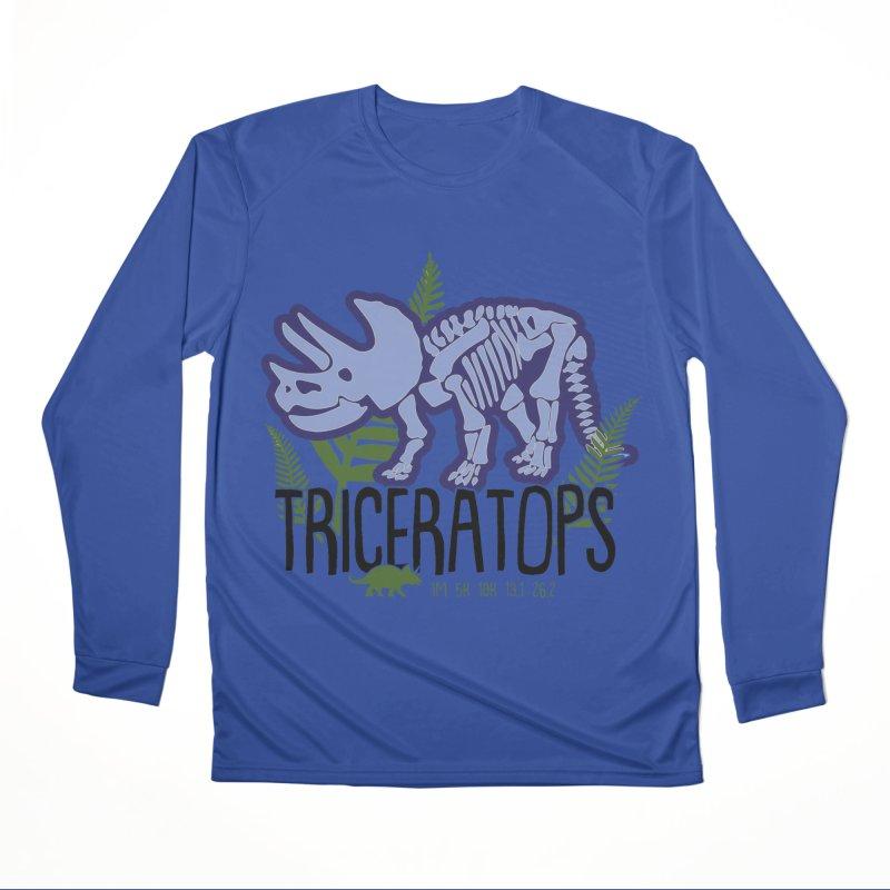 Triceratops Men's Performance Longsleeve T-Shirt by Moon Joggers's Artist Shop
