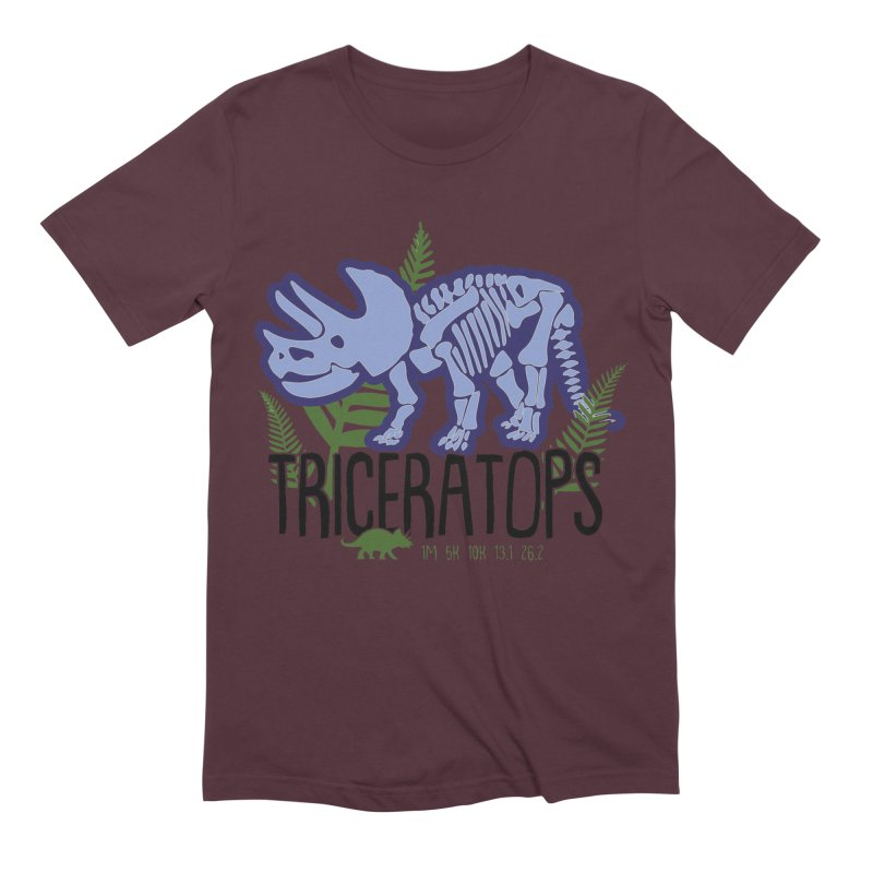 Triceratops Men's Extra Soft T-Shirt by Moon Joggers's Artist Shop