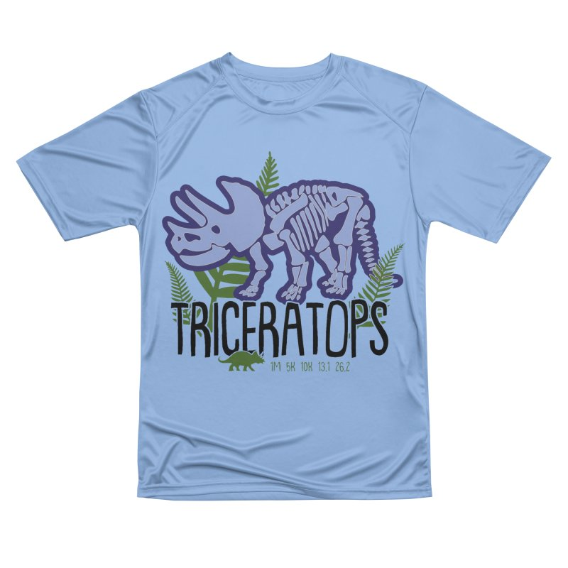 Triceratops Women's Performance Unisex T-Shirt by Moon Joggers's Artist Shop