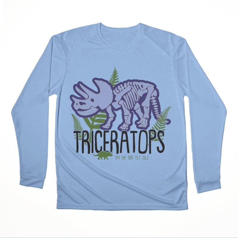 Triceratops Women's Performance Unisex Longsleeve T-Shirt by Moon Joggers's Artist Shop