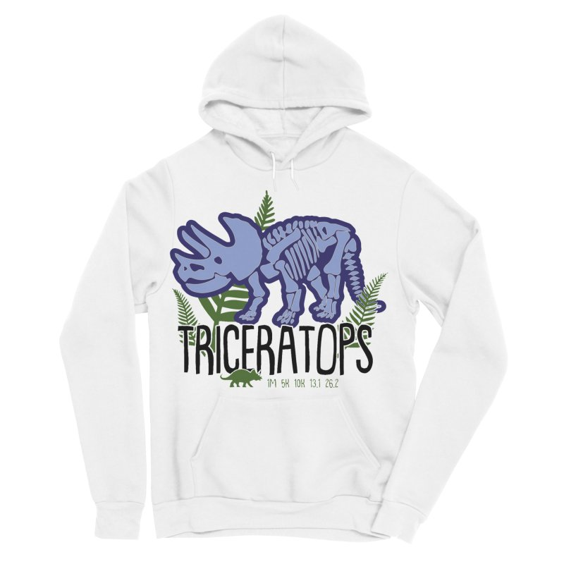 Triceratops Women's Sponge Fleece Pullover Hoody by Moon Joggers's Artist Shop