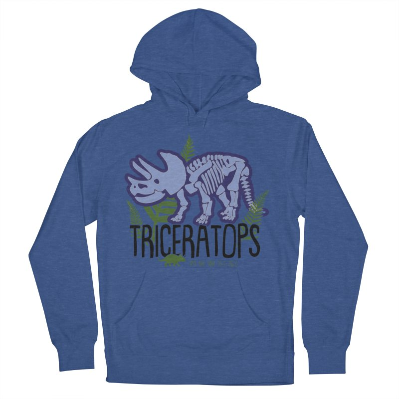 Triceratops Women's French Terry Pullover Hoody by Moon Joggers's Artist Shop