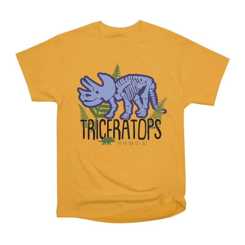 Triceratops Women's Heavyweight Unisex T-Shirt by Moon Joggers's Artist Shop