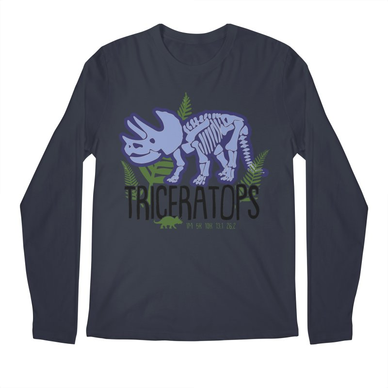 Triceratops Men's Regular Longsleeve T-Shirt by Moon Joggers's Artist Shop