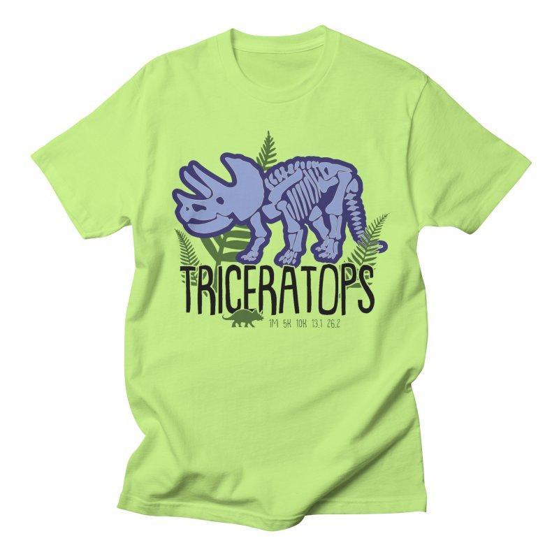 Triceratops Men's Regular T-Shirt by Moon Joggers's Artist Shop