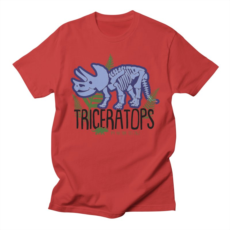 Triceratops Women's Regular Unisex T-Shirt by Moon Joggers's Artist Shop