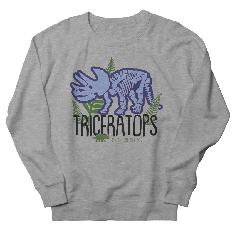 Triceratops Men's French Terry Sweatshirt by Moon Joggers's Artist Shop