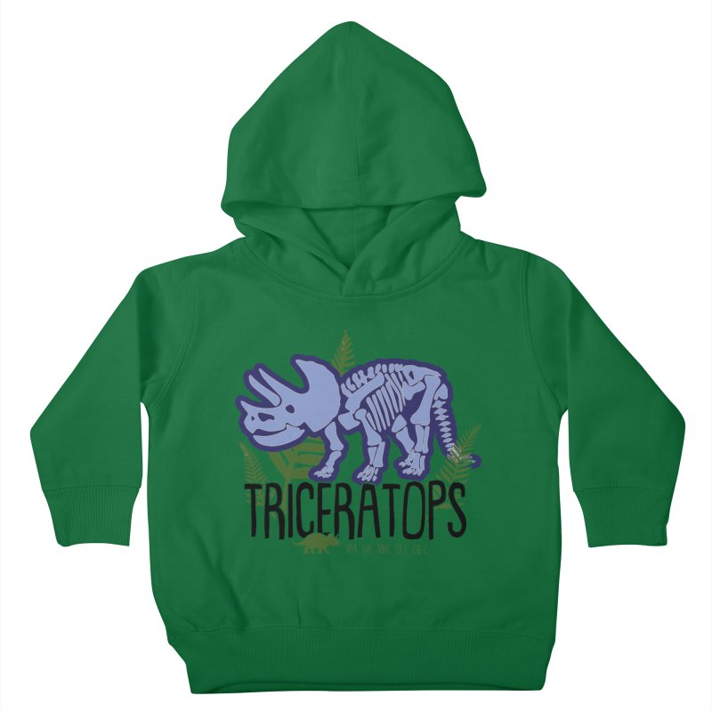 Triceratops Kids Toddler Pullover Hoody by Moon Joggers's Artist Shop
