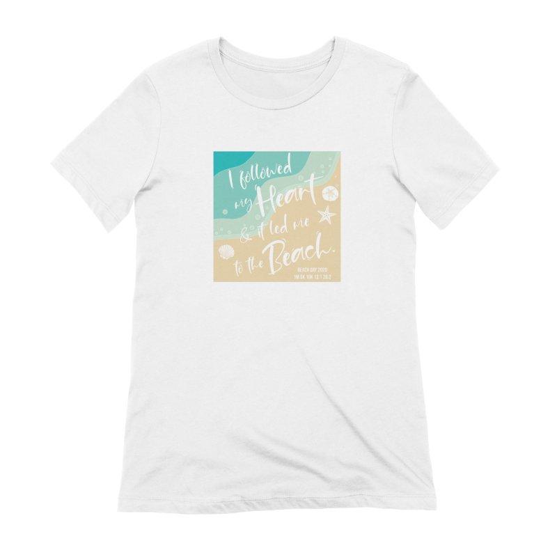 Beach Day Women's Extra Soft T-Shirt by Moon Joggers's Artist Shop